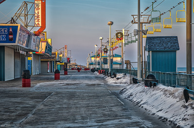 Seaside Hts Boardwalk Dec 2009