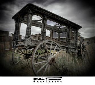 Undertaker's Carriage - Virginia City, NV