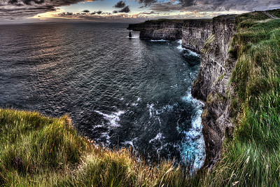 Ireland Cliffs of Moher North View