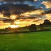 Sunset Over England
