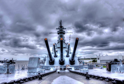 Battleship USS Alabama, Mobile, Ala.