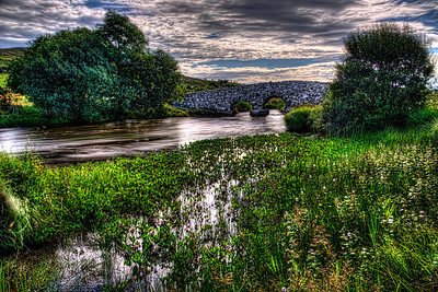 Ireland Quiet Man Bridge