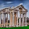 Ephesus in Turkey. HDR with single exposure.