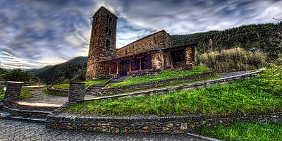 Andorra Sant Joan de Castelles Church