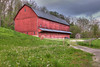 """High Dynamic Range photo of a barn on the corner of Canal and Tinkers Creek Rd.<br /> This photo can be purchased as a 30""""x20"""" or an 18""""x12"""" Ready-to-Hang Float Mount Metal Print. <br /> Purchase Price: $329.99 (30x20"""") and $147.99 (18x12"""")<br /> To purchase this wall mount, click on the cart button to the right."""