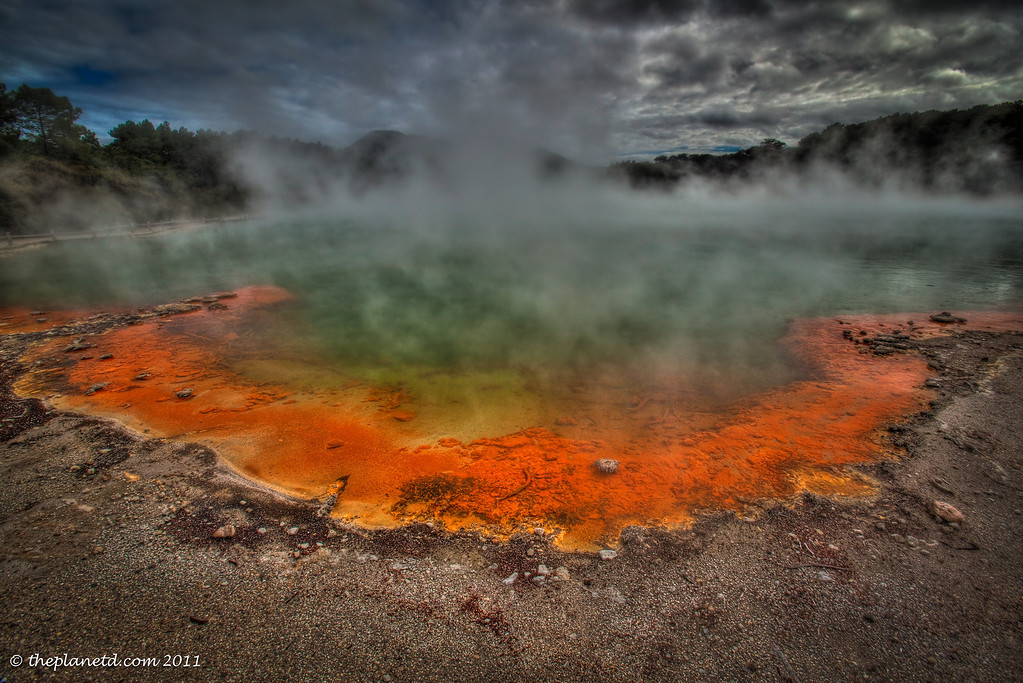 things to do in New Zealand - Wai-O-Tapu