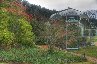 The Aviary at Waddesdon Manor
