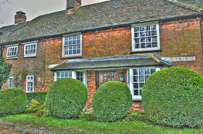 Old farmhouse, near Bledlow ridge in the Chilterns