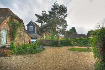 A garden in old Chesham