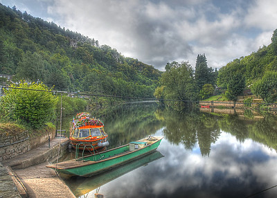 Symond's Yat on the river Wye