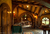 Inside the Green Dragon Inn. They host banquets in here.