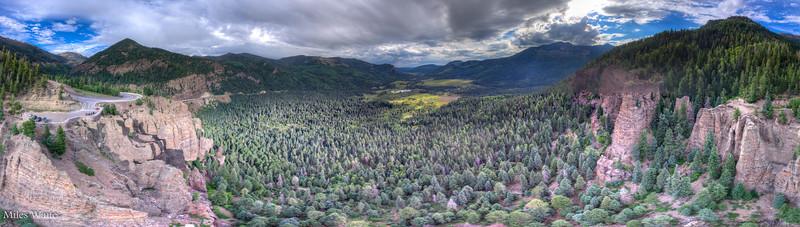 Wolf Creek Pass.