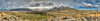 360 degree panorama from the top of Mt Sunday. The white object is a marker, for lining up CGI graphics to real life geography.