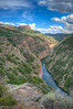 There are sections of the Black Canyon of the Gunnison that only receive 33 min of sunshine a day. Hence the name, Black Canyon.