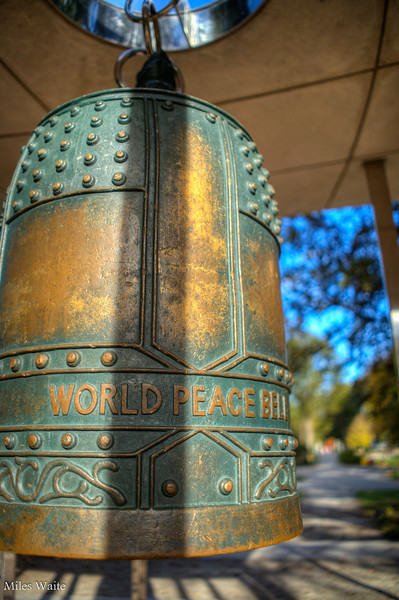 World Peace Bell. We really need this thing to work!