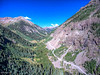 The road going up to Engineer Pass. Hey if it wasn't obvious, taken with the drone.