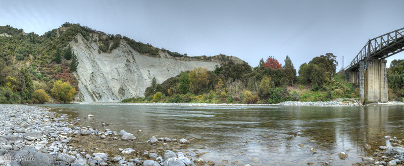 Down at the Rangitikei River.