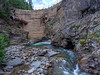 "Another shot of the gaping hole in the Hidden Treasure Dam. The dam provided hydro electric power to the Ute Ulay Mine. More info on the mine can be found here. <a href=""http://www.thedenverchannel.com/lifestyle/discover-colorado/colorado-ghost-towns-and-mining-history-exploring-the-ute-ulay-mining-complex-and-town-site"">http://www.thedenverchannel.com/lifestyle/discover-colorado/colorado-ghost-towns-and-mining-history-exploring-the-ute-ulay-mining-complex-and-town-site</a>"