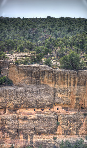 A small cliff dwelling.