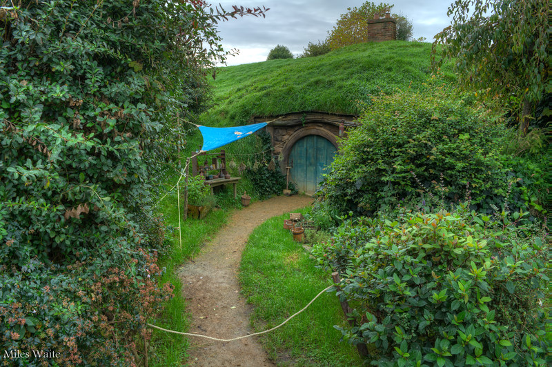 A little tucked away Hobbit Home.