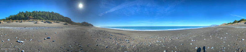 Just a beautiful deserted beach. Taken north of Kaikoura.