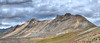 Multi row panorama of Darley Mountain.  Taken from the top of Engineer Pass.