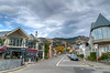The small town of Akaroa, in New Zealand.