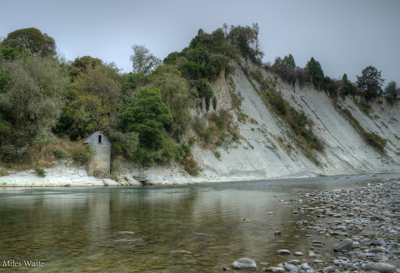 Another shot down at the Rangitikei River.