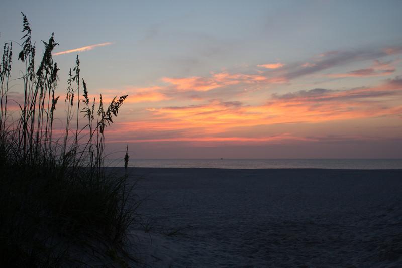 St. Augustine Beach Sunrise HDR 0ev
