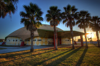 Orange Dome Sunset,  Winter Haven Florida