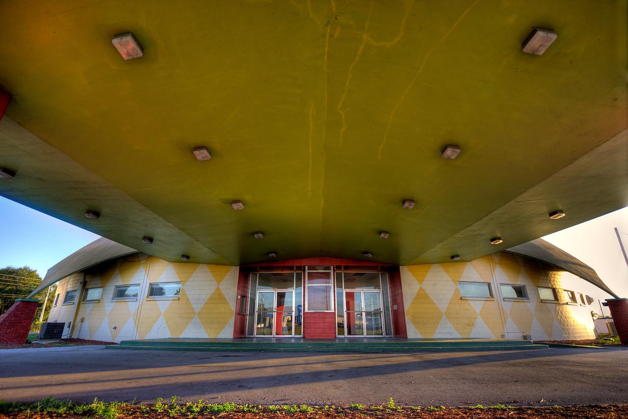 Enter The Orange Dome
