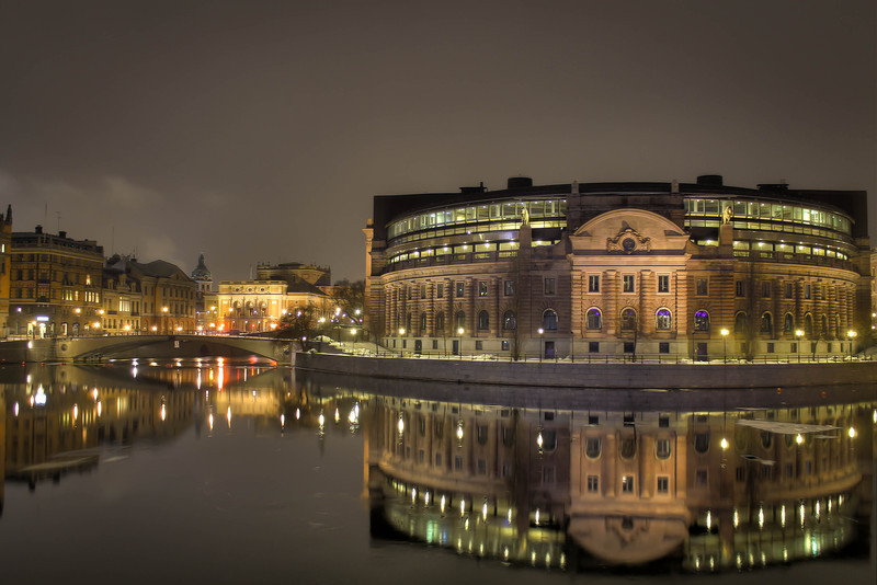 Parliament of Sweden - Stockholm, Sweden