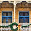 Four Doors At Christmas