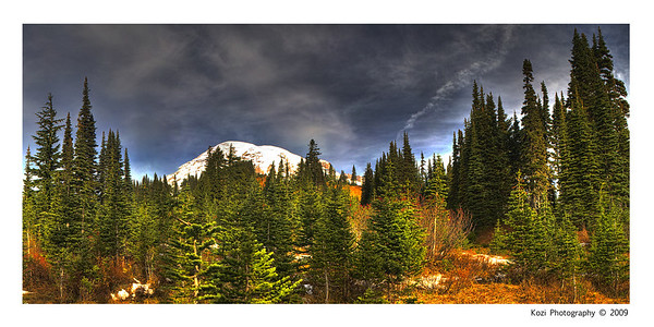 Another intense editing shot.  Originally 9 images, but I narrowed it down to 6 images, 18 exposures layered and tonemapped for HDR.  Stitched together, then added a few Nik filters for fun!