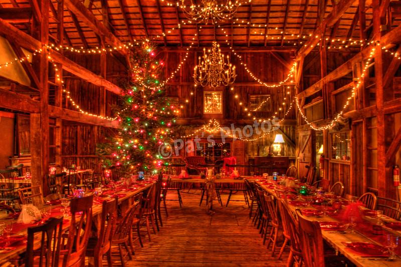 The Loft at Christmas
