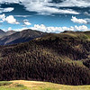 Independence Pass Independence Pass, Colorado Panoramic HDR Photograph