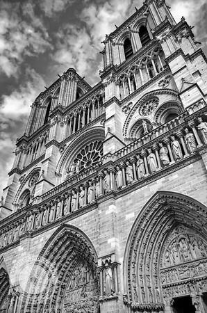 Paris - Notre Facade