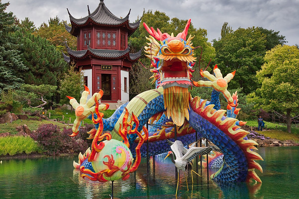 Chinese Dragon HDR