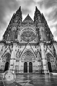 Prague Cathedral Front