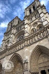 Paris Notre Dame Facia
