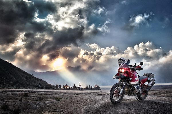 Storm Clouds Over Bromo - Java