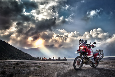 Storm Clouds Over Bromo