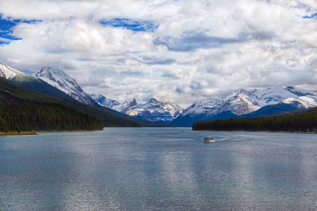 Maligne Lake HDR