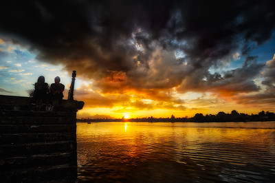 Sunset Over Kuching - Borneo