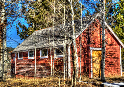 The Old Red Cabin