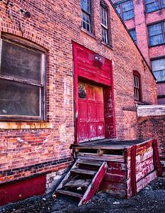 Warehouse Entry Door