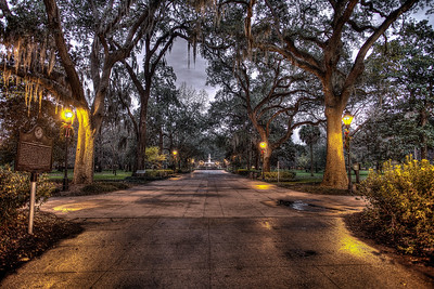 Forsyth Square in Savannah