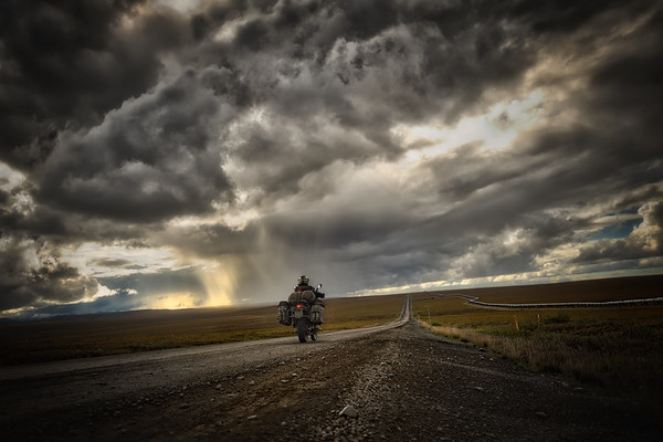 Dalton Highway Storm - Alaska