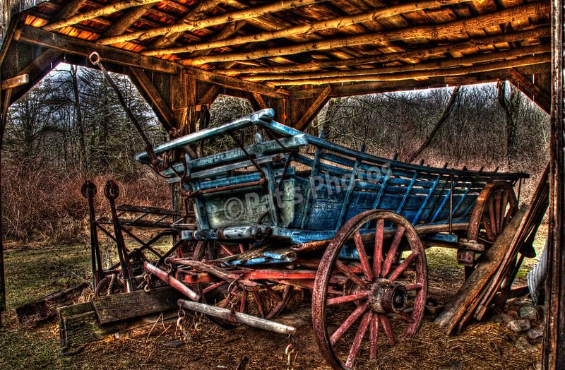 Wagon from Millebrook Village , Delawere Water Gap