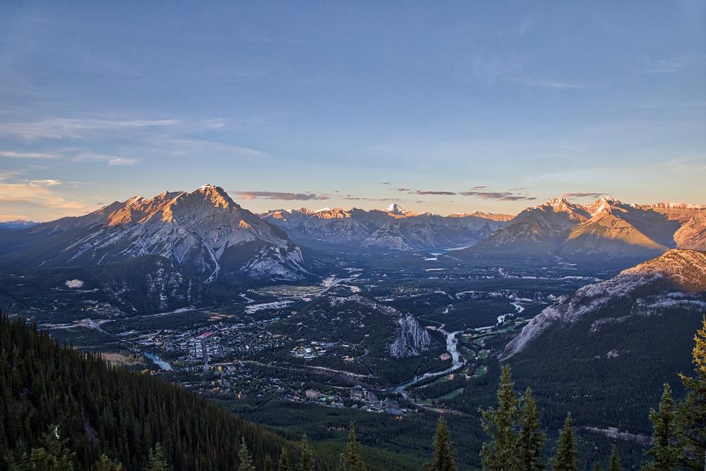 Banff Landscape HDR
